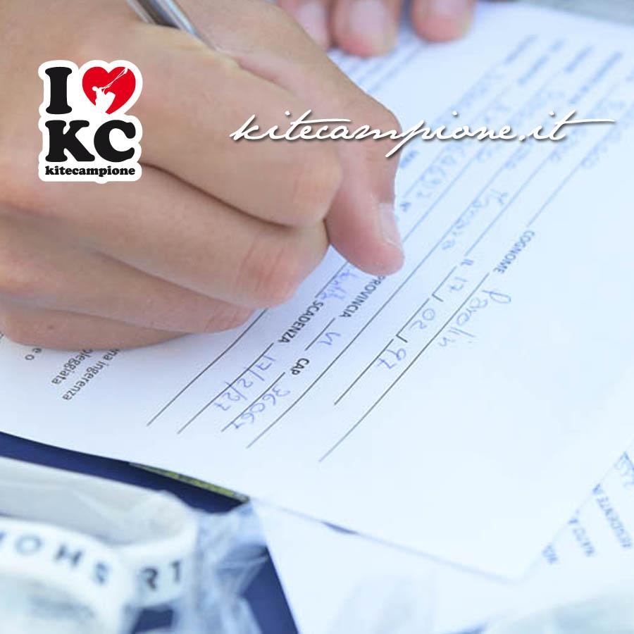 iscrizione online kitecampione