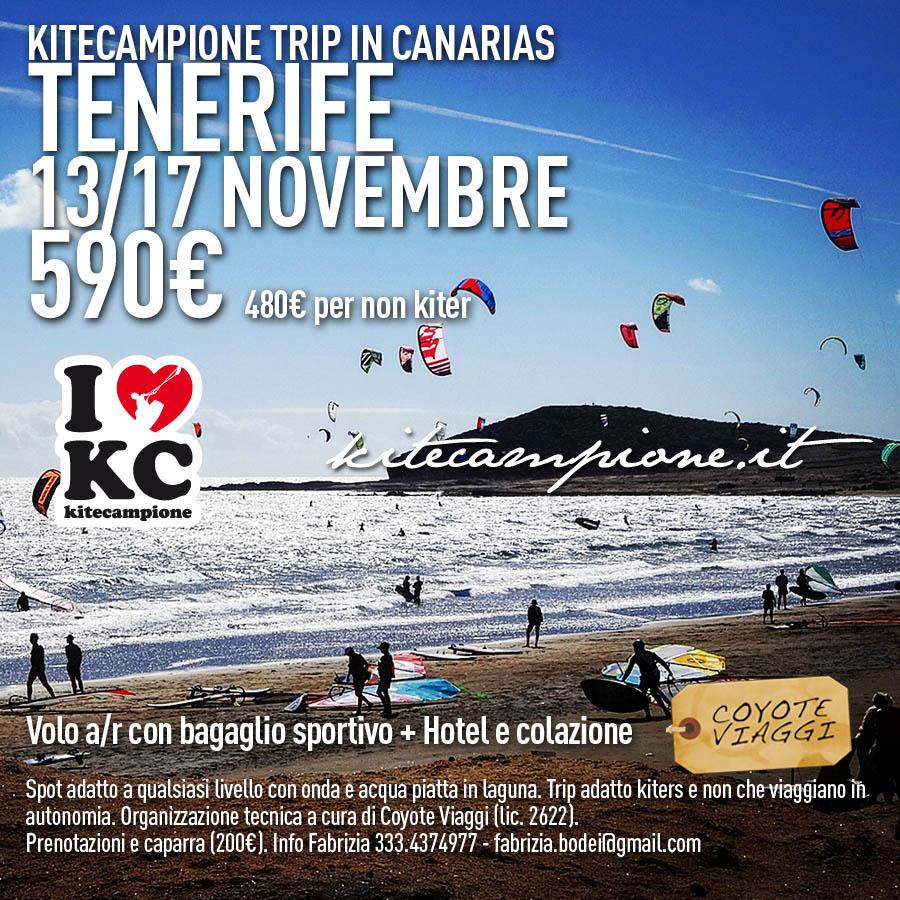 2019 tenerife kitecampione trip novembre
