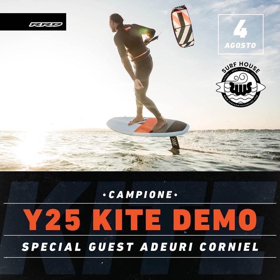 RRD Y25 Kite demo 2019
